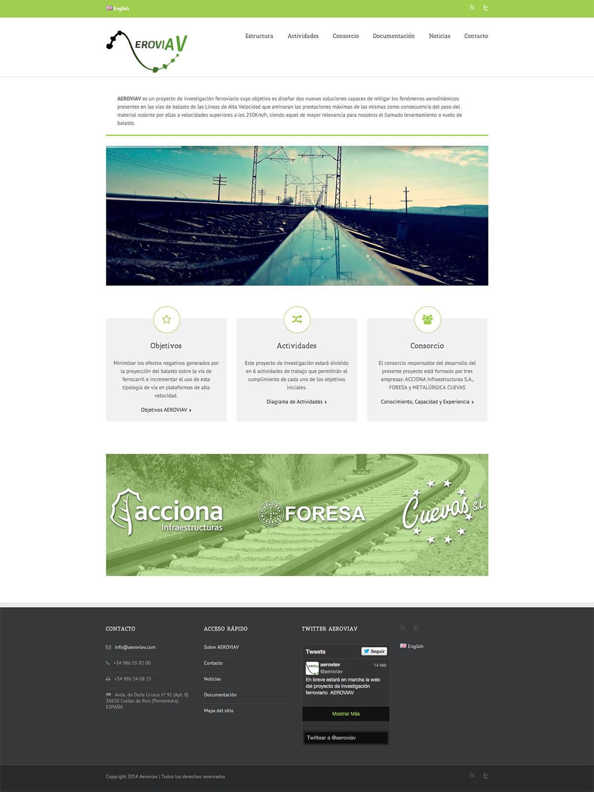 Web de AeroviaV